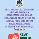Reminder - A fundraiser for Dublin Zoo