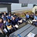 Room 19 use the outdoor classroom