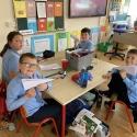 Room 19 - Paper aeroplanes